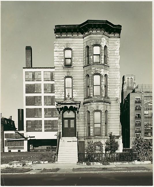 South Side, Chicago, por Walker Evans